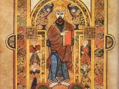 The Book of Kells. Celtic Church scholars did much to preserve the texts of ancient Europe through the Dark Ages.