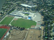 Picture of Bret Harte Middle School (San Jose, California) from the air