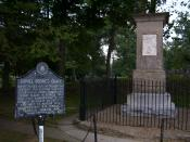 Gravesite of Daniel Boone, Frankfort, Kentucky