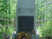 Gravesite of Jenny Wiley
