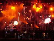 English: on 2006 Summer Tour during