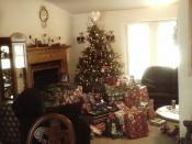 Christmas Tree with Lots of Presents Picture 2 of 2