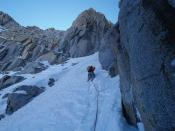 To Right Mendel Couloir
