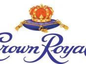 The distinctive bottle, box and purple velvet bag of Crown Royal.