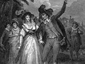 Petruchio forces Katherina to call the sun the moon in The Taming of the Shrew