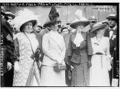 Mrs. Norman Mack, Mrs. Wm. Taft, Mrs. L.L. Francis, Mildred Aubrey  (LOC)