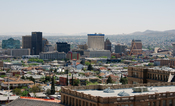 English: El Paso Skyline from the north.