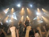 Estonian heavy metal group Remote Silence performing at Tuska Open Air Metal Festival 2006.