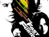 Film poster for The Fast and the Furious - Copyright 2001, Universal Pictures