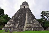 English: Tikal Temple 1 Mayan ruins 2009 Guatemala