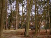 English: Ashurst Lodge, New Forest. Ashurst Lodge is the home of the Wessex Institute (of Technology) and provides a conference venue for