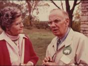 Dr. E. Raymond Hall, the Founder of the Movement for a Tallgrass Prairie National Park...09/1974