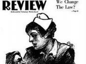 English: Cover of Birth Control Review July 1919 Captions: