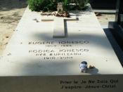 Tombstone of Eugene Ionesco