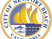 Official seal of City of Newport Beach