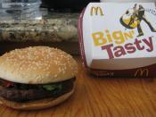 English: Big N' Tasty from McDonalds, USA