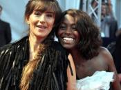 Français : Romane Bohringer et Aïssa Maïga au festival de Deauville 2009