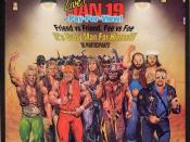 A poster or logo for Royal Rumble (1991).
